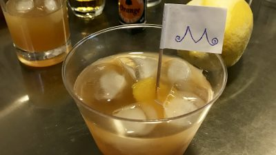 A picture of the The Governor cocktail.